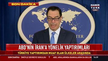 İran'a yaptırımlar yürürlülükte