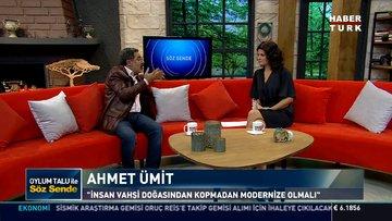 Söz Sende - 5 Kasım 2018 (Yazar Ahmet Ümit)