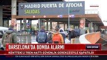 Barselona'da bomba alarmı: Kentteki 2 tren hattı güvenlik gerekçesiyle kapatıldı