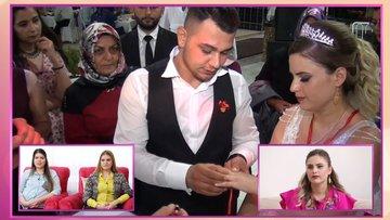 Gözde Hanım'ın düğününde nişan töreni!