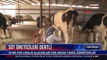 Süt üreticileri dertli: 33 milyon liralık alacakları var ancak tahsil edemiyorlar