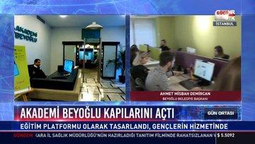 Akademi Beyoğlu kapılarını açtı: Eğitim platformu olarak tasarlandı, gençlerin hizmetinde
