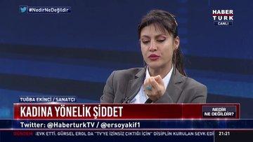 Tuğba Ekinci, Habertürk TV canlı yayınında