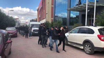 Tanığı öldürmek için 'pusuya yatan' çeteyi polis yakaladı