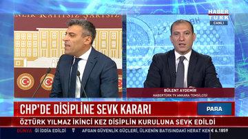 CHP'de disipline sevk kararı