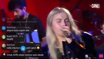 Aleyna Tilki'nin canlı performansı şoke etti