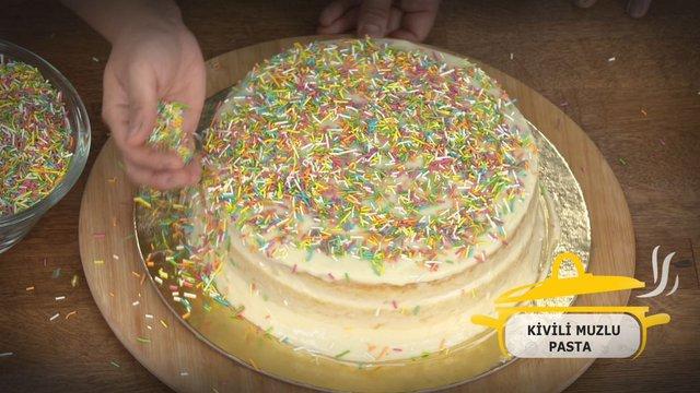 1 dakikada Kivili - Muzlu Pasta