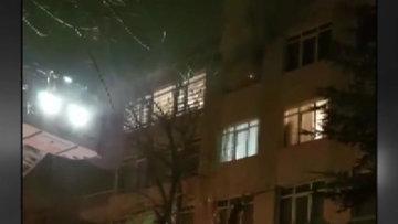 Başkentte ev yandı, 4 evcil hayvan öldü