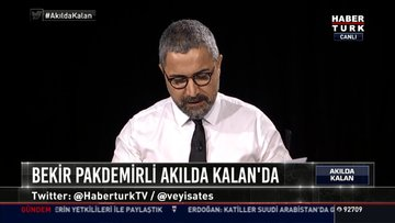 Bakan Pakdemirli Habertürk'te soruları yanıtladı