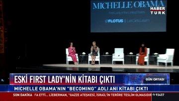 """Eski First Lady'nin kitabı çıktı: Michelle Obama'nın """"Becoming"""" adlı kitabı çıktı"""