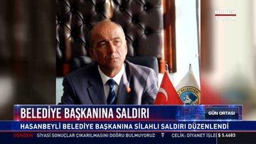 Belediye Başkanına saldırı: Hasanbeyli Belediye Başkanına silahlı saldırı düzenlendi