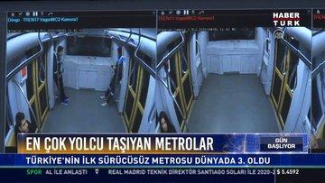 Avrupa birincisi seçildi: Türkiye'nin ilk sürücüsüz metrosu dünyada da 3.oldu