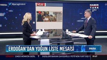 Erdoğan'dan yoğun liste mesaisi