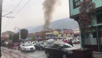 Tarihi Kayhan Çarşısı'nda yangın