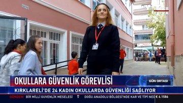 Okullara güvenlik görevlisi: Kırklareli'de 24 kadın okullarda güvenliği sağlıyor