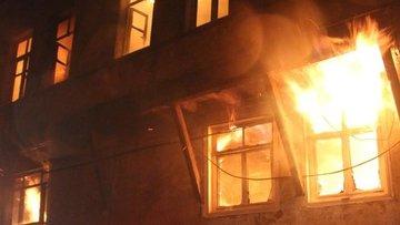 Yangın 4 evi kül etti!
