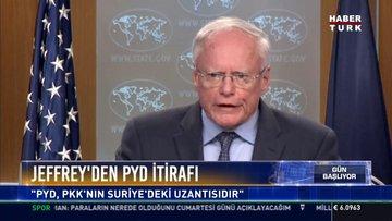 """Jeffrey'den PYD itirafı: """"PYD, PKK'nın Suriye'deki uzantısıdır"""""""