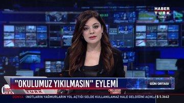 """"""" Okulumuz yıkılmasın"""" eylemi: İzmirde'de okulun öğrencileri tek bir binada eğitim alacak"""