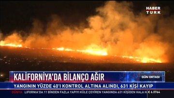 Kaliforniya'da bilanço ağır: Orman yangınında ölenlerin sayısı 66'ya yükseldi