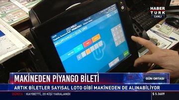Makineden piyango bileti: Artık biletler sayısal loto gibi makineden de alınabiliyor