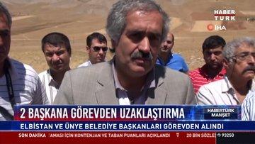 2 başkana görevden uzaklaştırma: Elbistan ve Ünye Belediye Başkanları görevden alındı