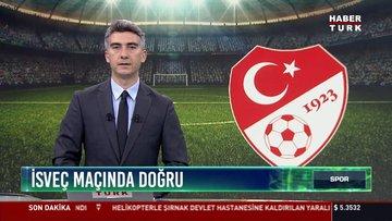 İsveç maçına doğru: A milli takım Konya'ya gitti