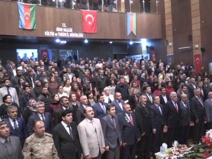 Azerbaycan 100 yaşında! Iğdır'da kutlamalar yapıldı