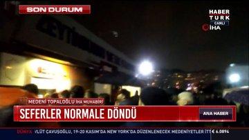 Zeytinburnu Metro İstasyonu kapatıldı