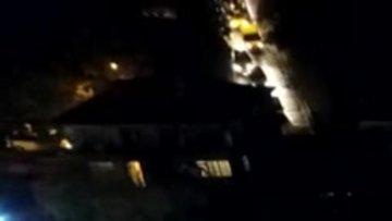 E-5'te geri geri gidip trafiği alt üst ettiler...Ceza yağan uyanık sürücüler havadan görüntülendi