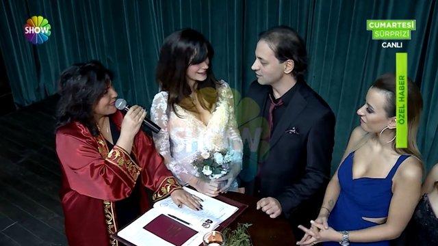 Kaan Tangöze ve Kıvılcım Ural'ın düğününden çok özel görüntüler!