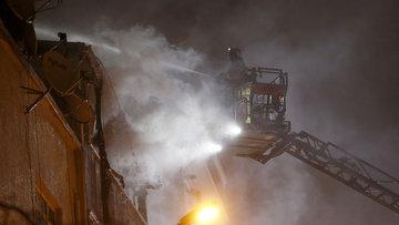 Bayrampaşa'da korkutan yangın! Çok sayıda yaralı var