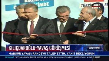 Kılıçdaroğlu-Yavaş görüşmesi: Mansur Yavaş: Randevu talep ettim, yanıt bekliyorum