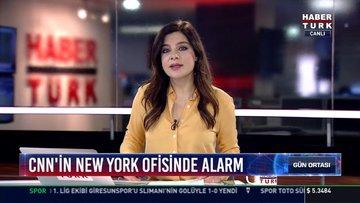 CNN'in New York ofisinde alarm: Ofisin bulunduğu bina bomba ihbarı nedeniyle boşaltıldı