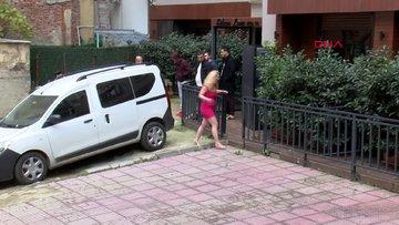 Rus koca eşini sokak ortasında dövdü
