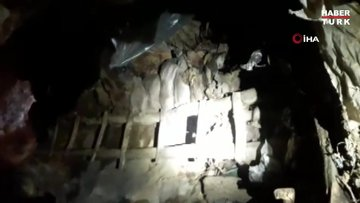 Teröristlerin inlerine girildi, 41 sığınak, depo ve mağara imha edildi