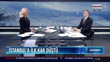 İstanbul'a ilk kar düştü: Beylikdüzü, Hadımköy, Çatalca ve Silivri'yi beyaza bürüdü