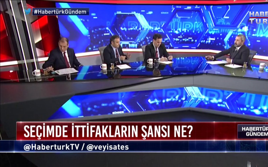 Habertürk Gündem - 11 Aralık 2018 (CHP'nin stratejisi ne olmalı ?)