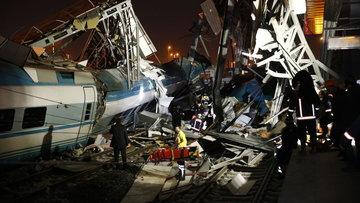 Ankara'da Yüksek Hızlı Tren kazası! Yaralılar var
