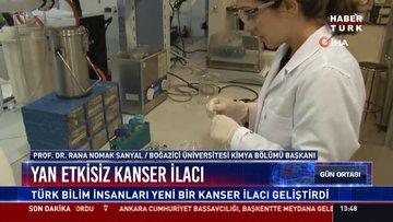 Yan etkisiz kanser ilacı: Türk bilim insanları yeni bir kanser ilacı geliştirdi