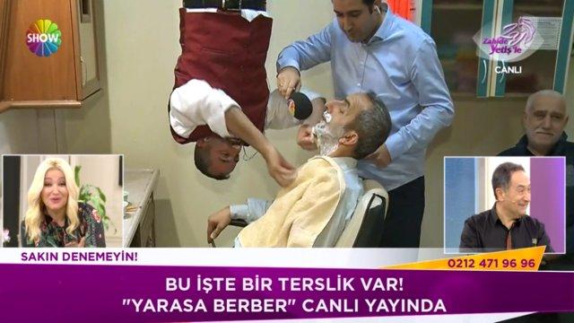 Yarasa berber Zahide Yetiş'le'de!
