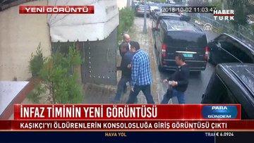 İnfaz timinin yeni görüntüsü: Kaşıkçı'yı öldürenlerin konsolosluğa giriş görüntüsü çıktı