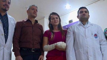 Arnavut polise literatüre giren yöntemle yeni parmak