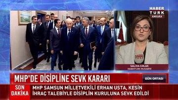 MHP'de disipline sevk kararı!