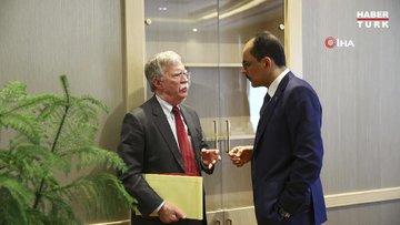 Cumhurbaşkanlığı Sözcüsü İbrahim Kalın, John Bolton ile görüştü
