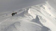 -30 derecede Uludağ'ın zirvesine tırmananlar gözlerine inanamadı