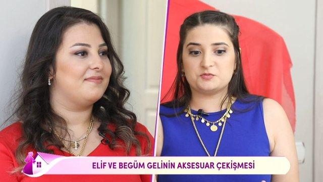 Begüm ve Elif Gelin arasında 'iddia' polemiği!