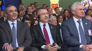Cumhurbaşkanı Yardımcısı Oktay Venezuela'da