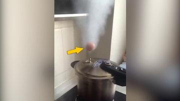 Sıra dışı yumurta haşlama yöntemi