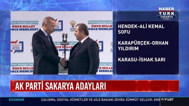 AK Parti'de aday tanıtımı