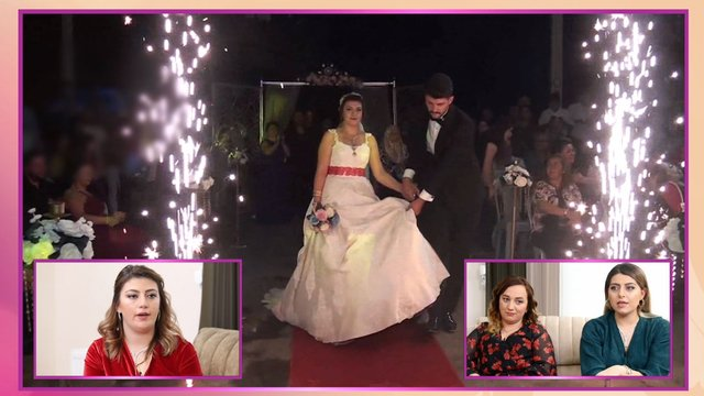 Pazar alanındaki düğün çok eleştirildi!